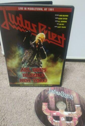 Judas Priest All Guns Blazing New York live dvd import! 1991 Painkiller Tour