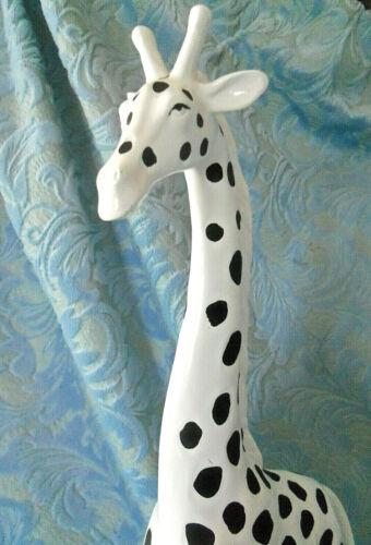 "Large 19"" T Giraffe Figurine Statue"