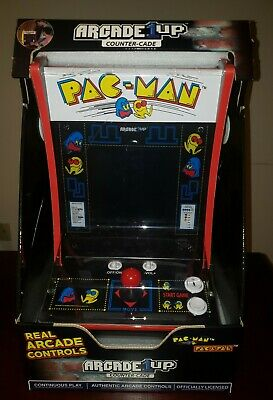 Arcade1Up Pacman Personal Arcade Game Machine PAC-MAN Countercade - OPEN BOX