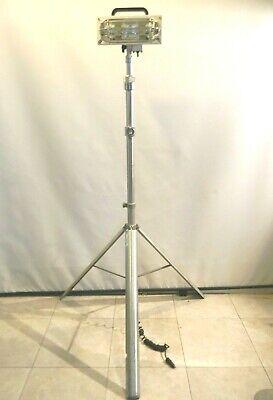 Havis-shields Magnafire 3000 Field Scene Hid Light 12 Vdc W Kwik Razetripod