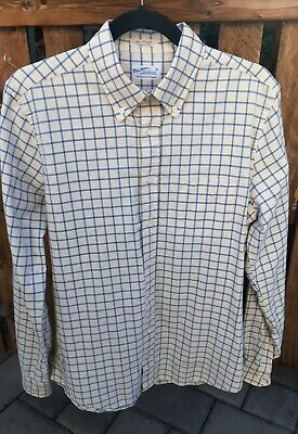 Gant Rugger 'The Hugger' Stripe Oxford Shirt - Size L
