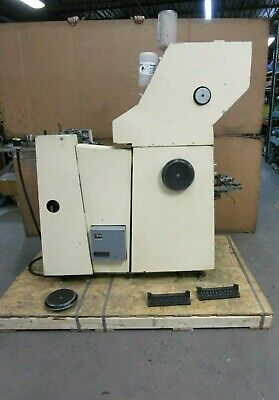 Atf Davidson 502 Printing Press 240 Volt 1 Phase