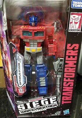 Transformers War For Cybertron Siege Voyager AUTOBOT OPTIMUS PRIME G1 IN STOCK