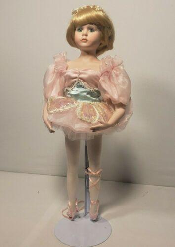"""Ballerina Porcelain 15"""" Doll Andrea 543R"""