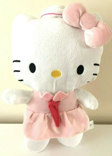 "Jumbo 15"" Sanrio Super Cute Hello Kitty Sailor Plush Toy Doll NEW. Large. Soft"