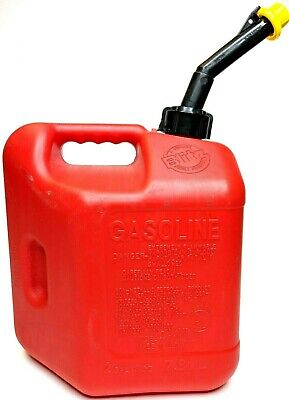 Pre-ban 2 Gallon 8oz Blitz Self-vented Gas Can Fuel Container Red Plastic 50810