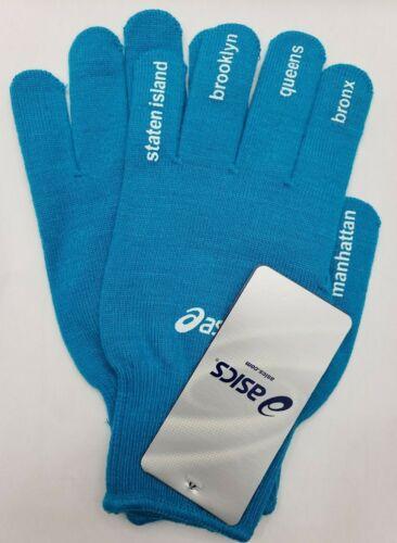 ASICS New York City NYC Marathon Light Weight Gloves L/XL NWT