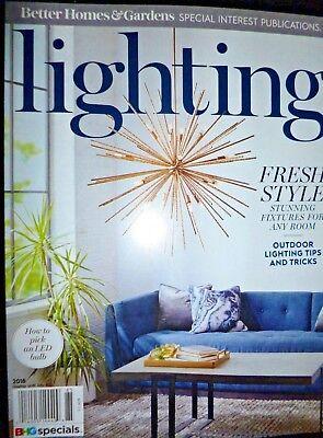 Better Homes & Gardens Lighting Magazine Spring 2018 Designer Decor Hi-Tech