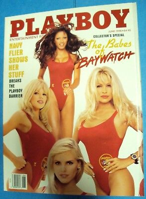 PLAYBOY Magazine June 1998 BABES OF BAYWATCH Pam Anderson Collector's Special