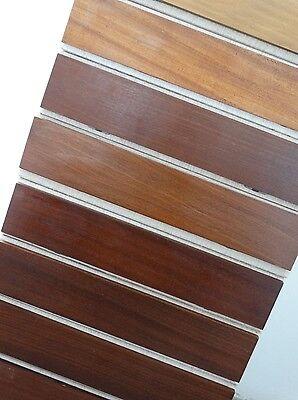 Schallplatten 60er Teak-Holz Ablage Schreibtisch-Ordner Dokumentenablage