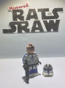 Lego Star Wars minifigures - Clone Custom Troopers - 501st Trooper Jesse