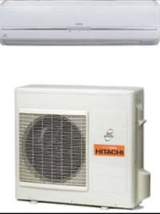 Hitachi high wall split system 8kw air conditioner Mindarie Wanneroo Area Preview