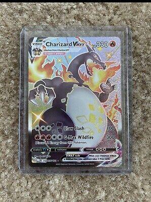 Shiny Charizard VMAX SV107/SV122 - Shining Fates Pokemon 31 Random Card Fat Pack