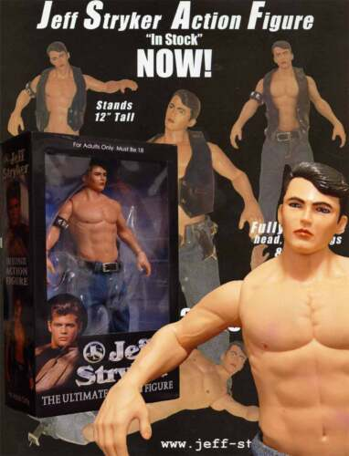 """StrykerSpecial.12"""" Jeff Stryker Action Figure UNsigned, NIB Buy from Jeff direct"""