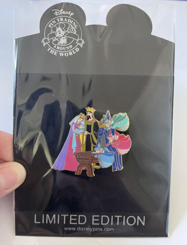 Disney Shopping LE 250 Sleeping Beauty Baby Aurora Pin