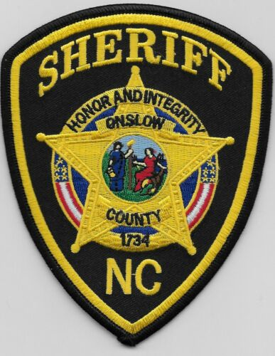Onslow County Sheriff State North Carolina NC Colorful