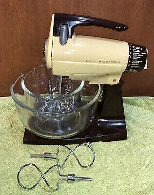 Vintage Sunbeam MixMaster 12 Speed Stand Mixer + -