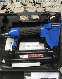 Mastercraft air powered 2 in 1 nailer Nail Gun