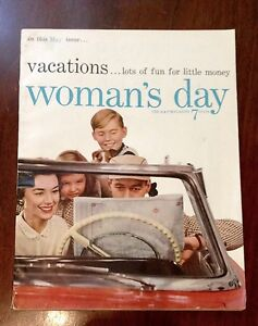 1950s Woman's Day & Ladies Home Journal Magazines