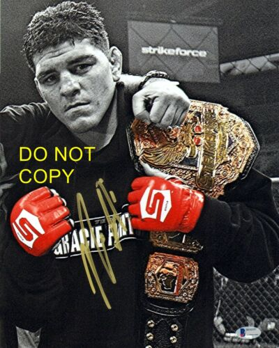Nick Diaz Signed 8x10 Autographed REPRINT PHOTO UCF MMA Legend RP
