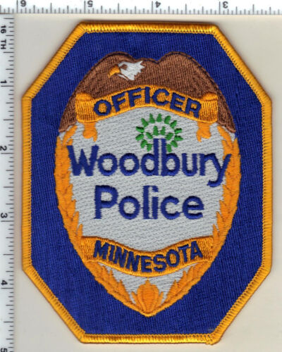 Woodbury Police (Minnesota)  Shoulder Patch new 1991