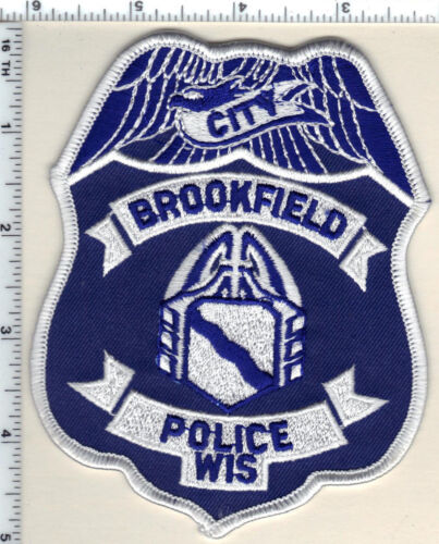 Brookfield Police (Wisconsin) 2nd Issue Shoulder Patch from 1991