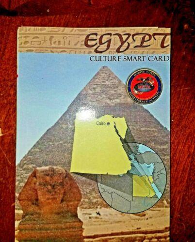 US Army USMC Egypt Cultural Smart Card