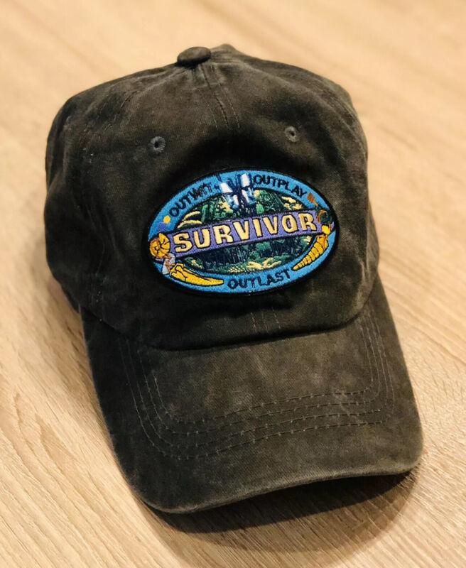 SURVIVOR Logo Cap Hat Embroider Patch Style ISLAND OF THE IDOLS CBS TV Season 39