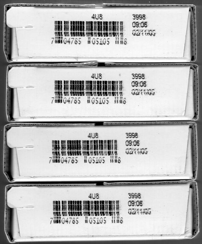 4 Sealed Boxes 2005 P & D Westward Journey Bison Buffalo Nickel Roll Sets 4U8