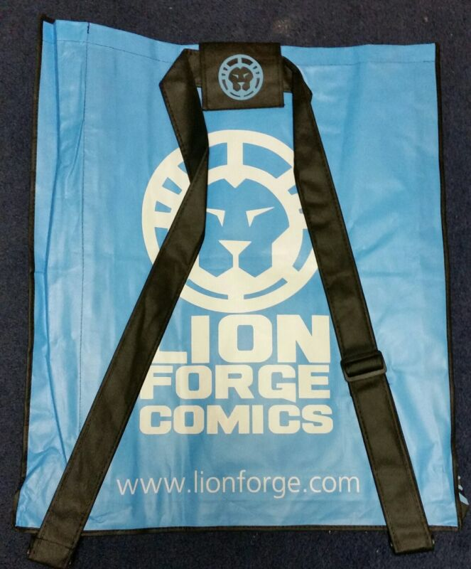 2016 NYCC Exclusive  Lion Forge Comics Backpack Swag Bag - Free Shipping !