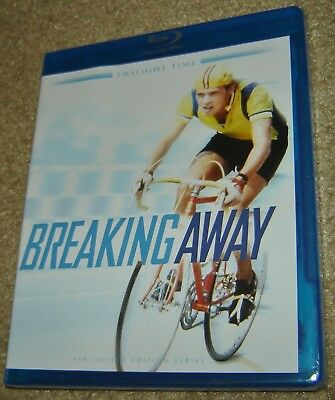 BREAKING AWAY TWILIGHT TIME LIMITED EDITION BLU-RAY, NEW AND SEALED, RARE,GREAT! - Great Pg Halloween Movies