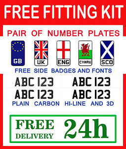 PAIR-Registration-Numbers-LEGAL-CAR-NUMBER-PLATES-Free-Delivery