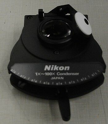 Nikon Cc Swing-out Achromatic Condenser 1x-100x New