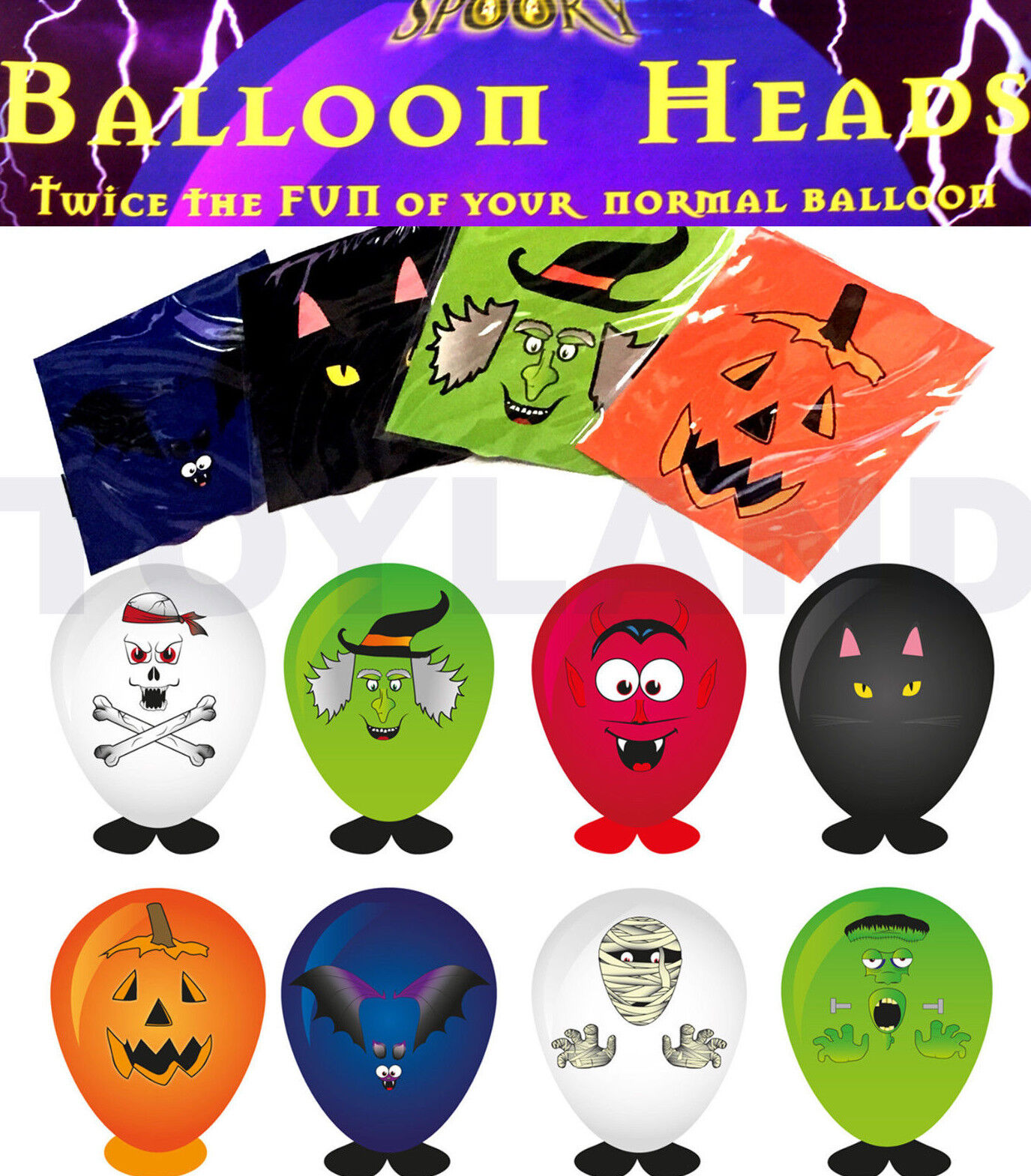 Halloween spooky Mini Jigsaw Puzzle Assorted Designs trick treat party bag toys
