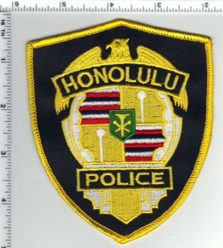 Honolulu Police (Hawaii)  Shoulder Patch - new from 1989