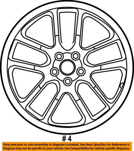 Infiniti Nissan Oem 05 07 G35 Wheel Alloy Aluminum D0300ac84a