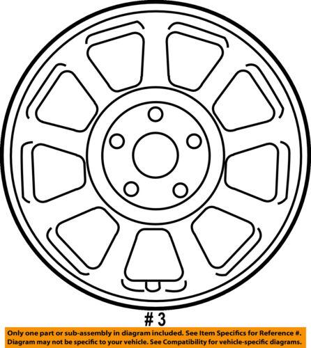 Hyundai Oem 06 11 Azera Wheel Alloy Aluminum 529103q930