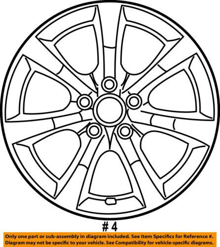 Infiniti Nissan Oem 05 06 G35 Wheel Alloy Aluminum 403007w025