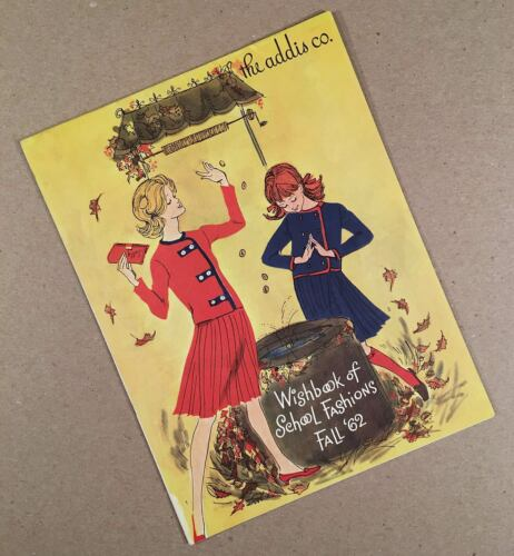 Syracuse Dewitt Fairmount NY: 1962 ADDIS CO. DEPT. STORE School Fashions Catalog