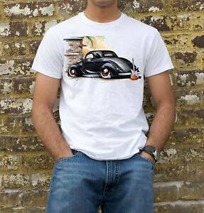 HOT ROD AND GUITAR T-SHIRT Cambridge Park Penrith Area Preview