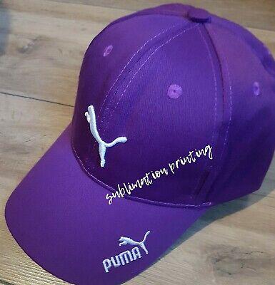 Puma Baseball Cap Purple