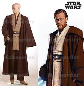 Star Wars Obi-Wan Kenobi Jedi TUNIC Costume New Version *Custom Made*