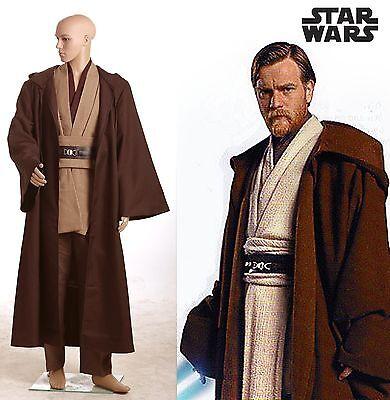 Star Wars Obi-Wan Kenobi Jedi TUNIC Ver. Express 2 Cosplay Kostüm Karneval