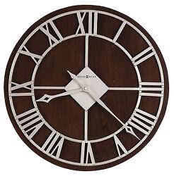 625-496 PRICHARD  15 DIAMETER WALL CLOCK BY  HOWARD MILLER   625496