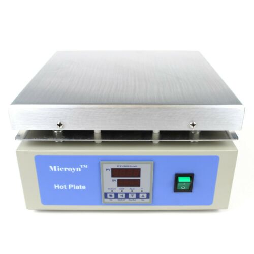 """Large Digital Hot Plate, 12"""" x 12"""" Panel, 250°C, 110V"""