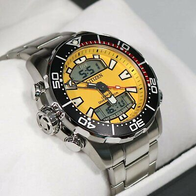 Citizen Aqualand Promaster Diver's 200M Analog Digital Men's Watch JP1090-86X
