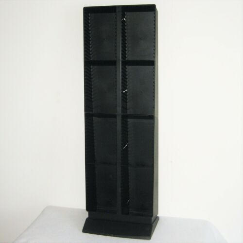 vintage LASERLINE 120 CD  Twin Tower Storage & Display Rack  RARE 2 Piece Design