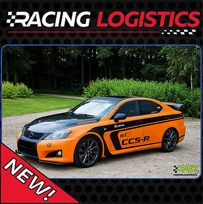 Lexus IS-F CCS-R KIT, CCSR complete circuit race kit, racing stripes, 2007-2014