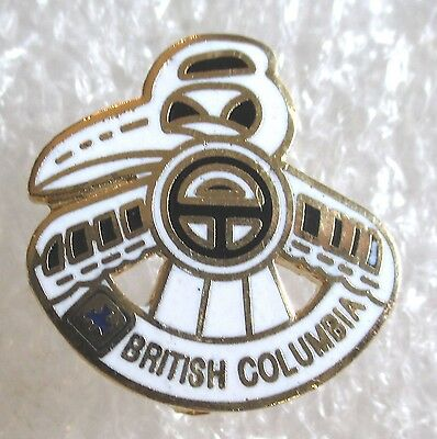 British Columbia BC Canada Travel Souvenir Collector Pin