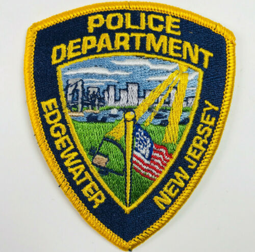 HAT SIZE Edgewater Police Bergen County New Jersey NJ Patch C1